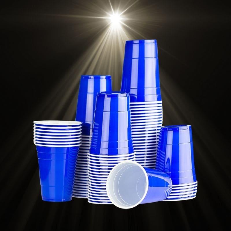 BierPong Becher Blau